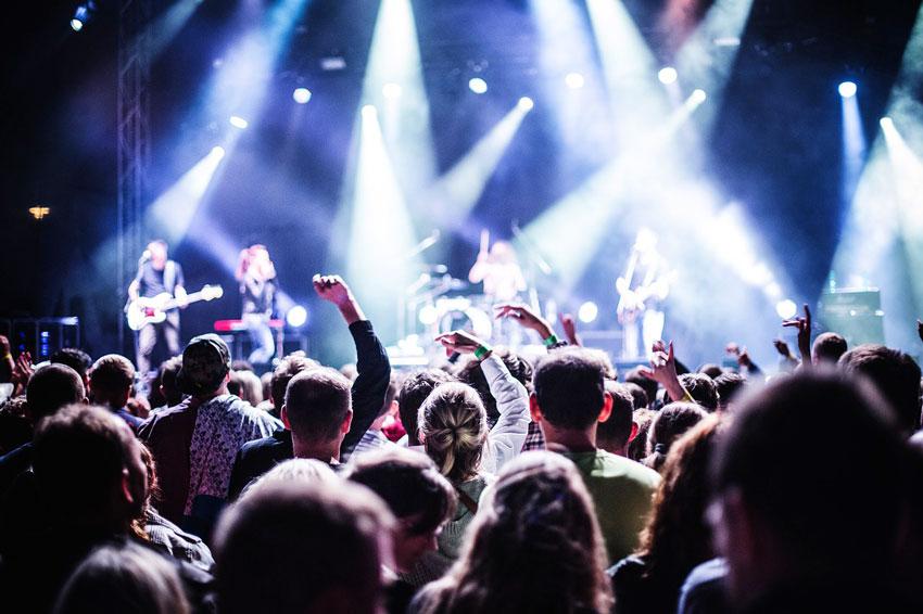 Support voor festivals en grote events